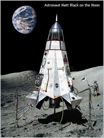 rocket landing on moon - photo #6